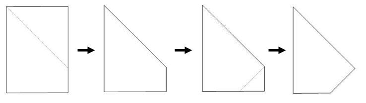 Kite 1 fold